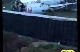 Plane crash in Turkey Istanbul