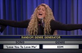 The Tonight Show. Musical Genre Challenge with Meghan Trainor