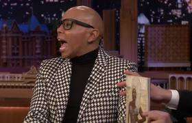 The Tonight Show: RuPaul on Covering Vanity Fair, Hosting SNL and Being the Queen of Drag