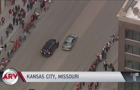 Police chase interrupts the Kansas City Chiefs parade