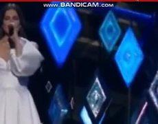 Idina Menzel Performs