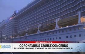 Inside a coronavirus quarantined cruise ship