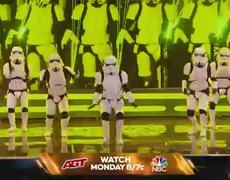 America's Got Talent: The Champions - PREVIEW: Stormtroopers Boogie Storm Perform The Cha Cha Slide