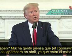 Coronavirus will disappear in April: Donald Trump