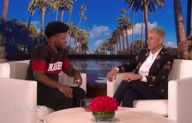 The Ellen Show: Extended Cut: Stars Freak Out Meeting 'Cheer's' Jerry Harris at the Oscars