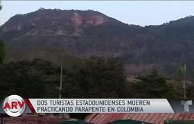 Two American tourists die after paragliding in Colombia