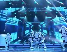 Simon Cowell's Golden Buzzer Boogie Storm Brings Amazing Dance - America's Got Talent: The Champions