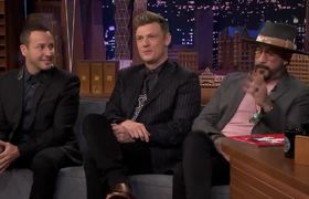 The Tonight Show: Backstreet Boys Clear Up Ryan Gosling and *NSYNC Rivalry Rumors