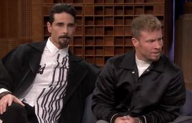 The Tonight Show: Backstreet Boys Showcase Their Harmonies with Shai's