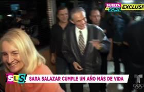 Sara Salazar fue captada celebrando su primer cumpleaños sin José José