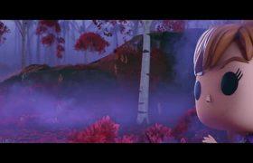 Corto Frozen 2 Funko | Elsa y Anna conocen a Bruni | Disney Junior UK