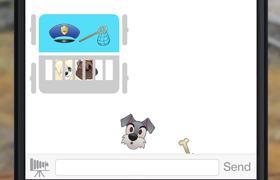 La Dama y el Vagabundo contada con Emojis - Diseny