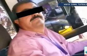 'Can't go kissing': gay couple get off truck in Jalisco