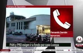 En caso Lozoya, PAN y PRD exigen ir a fondo y castigo al más alto nivel