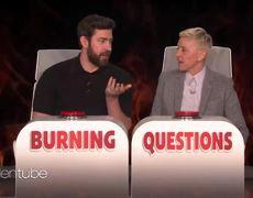 The Ellen Show: Extended Cut: John Krasinski Answers Ellen's 'Burning Questions'