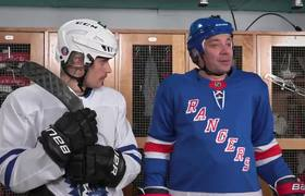 The Tonight Show: Justin Bieber Teaches Jimmy Fallon How to Play Hockey