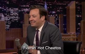 The Tonight Show: Whisper Challenge with Rosario Dawson