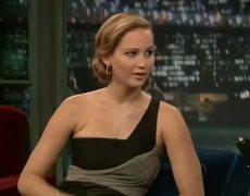 Jennifer Lawrence at Jimmy Fallons Show