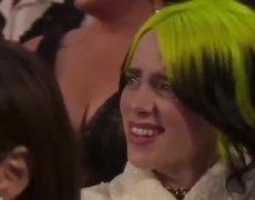 La Reacción De Billie Eilish En Los Oscars Que Enojó A Todos En Twitter