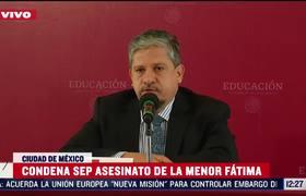 SEP lamenta caso Fátima, revisará protocolo de entrega de menores