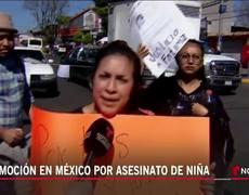 Familiares de niña de 7 años asesinada en México recuerdan a la pequeña y exigen justicia