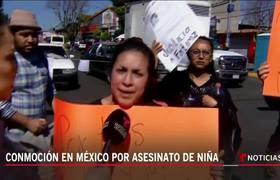 Familiares de Fatima, asesinada en México recuerdan a la pequeña y exigen justicia