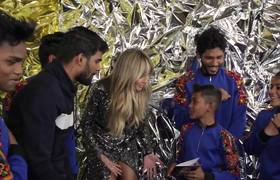 America's Got Talent: The Champions: Heidi Klum talks to V.Unbeatable about their EPIC WIN!