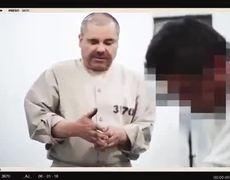 Mexican Drug Lord El Chapo prison video surfaces