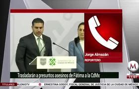 Feminicidio de Fátima: García Harfuch descarta que dinero haya sido móvil