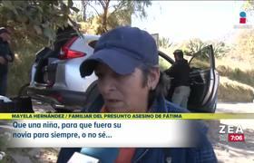 Tía de Mario delató a los presuntos feminicidas de Fátima