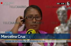 """Madre de Giovana """"N"""" cree que su hija fue manipulada por Mario """"N"""" en el caso de Fátima"""
