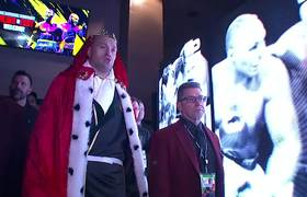Tyson Fury's eccentric Ring Walk in preparation of his fight with Deontay Wilder