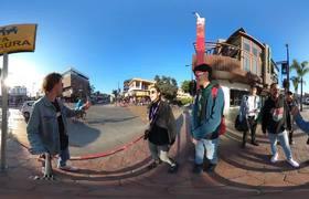 Luisito COmunica: Tijuana en REALIDAD VIRTUAL!   Burros pintados de cebras
