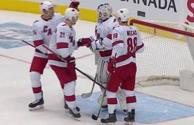 42-year-old emergency goalie saves the day for Hurricanes