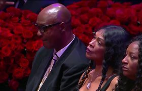 Jimmy Kimmel opens Celebration of Life for Kobe and Gigi Bryant with emotional speech