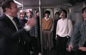 The Tongiht Show Subway Olympics with BTS