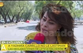 ¡Yadhira Carrillo reacciona a las declaraciones de Lety Calderón sobre Juan Collado!