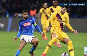 Malas noticias para el Barcelona! Gerard Piqué se lesiona ante el Nápoles y peligra para el Clásico!