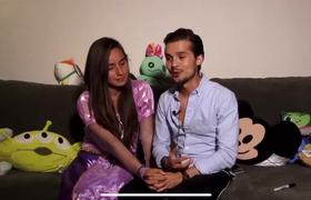 Memo Aponte comparte pertubador video con su novia