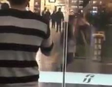 #VIDEO: People run away at a station when they see a coronavirus suspect in Florence. Italy.