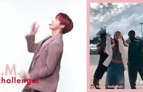Monsta X Dance to Viral Tik Toks and Create Their Own Challenge | Tiktok Challenge Challenge | Cosmo