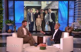The Ellen Show: Justin Bieber Scares David Beckham