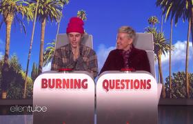 The Ellen Show: Justin Bieber Answers Ellen's 'Burning Questions'