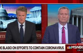 Bill de Blasio: We Need Federal Government's Help On Coronavirus
