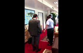 OPEC ministers swap handshakes and hugs for the Wuhan shake