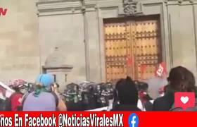 Mujer hace explotar bomba molotov a mujeres en marcha de la #CDMX