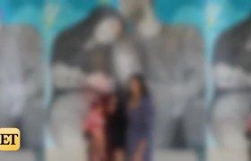 Vanessa Bryant y sus hijas visitan el mural de Kobe y Gianna