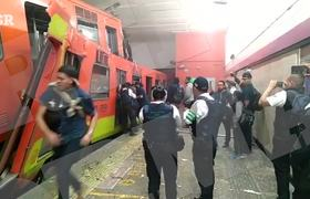 Chocan trenes en Metro Tacubaya, se reportan 15 heridos