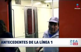 En 51 años, tres accidentes en el Metro de la CDMX