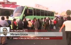 Hay seguimiento a lesionados de accidente en Metro Tacubaya